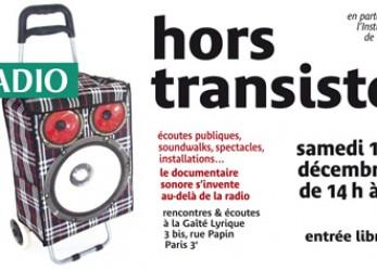 ACTU// «Hors transistor», la fête du documentaire sonore à la Gaîté Lyrique