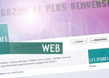 WEB// Retrouvez Les Zébrés sur les réseaux sociaux !