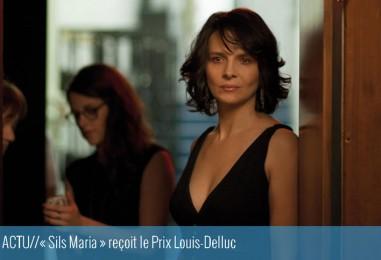 ACTU// «Sils Maria» reçoit le Prix Louis-Delluc
